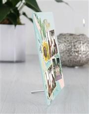 Personalised Shine Glass Tile