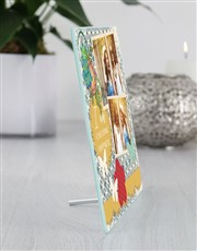 Personalised Happiness Glass Tile