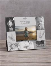 Personalised Baby Multi Photo Frame