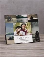 Personalised Holiday Multi Photo Frame