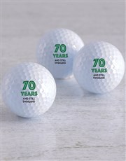 Personalised Still Swinging Golf Balls