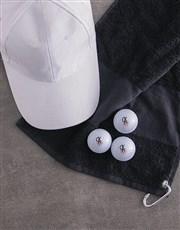 Personalised Deco Initial Golf Balls