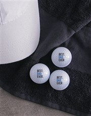 Personalised Best Ever Golf Balls