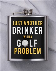 Personalised Golf Balls and Golf Problem Hipflask