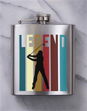Personalised Golf Balls and Legend Hipflask