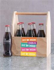 Personalised Be Lekker Man Crate
