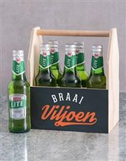 Personalised Braai Legend Man Crate