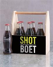 Personalised Shot Boet Man Crate