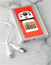 Personalised Polaroid Power Bank