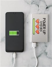 Personalised Power Up Power Bank