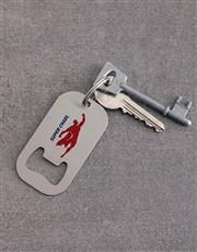 Personalised Super Metal Keyring