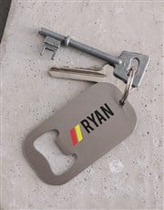 Personalised Name Metal Keyring