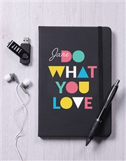 Personalised What You Love Tech Hamper