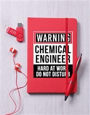 Personalised Warning Tech Hamper