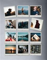 Personalised Polaroid Magnets Set Of Twelve