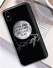 Personalised Astronaut iPhone Cover