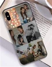 Personalised Six Photo iPhone Cover