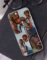 Personalised Four Photo iPhone Cover