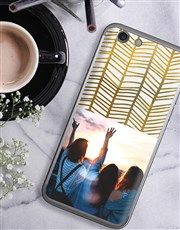 Personalised Golden Photo iPhone Cover