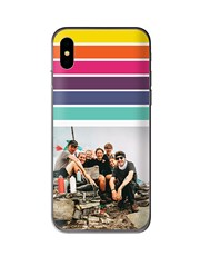 Personalised Rainbow Photo iPhone Cover