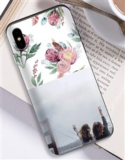 Personalised Protea Photo iPhone Cover