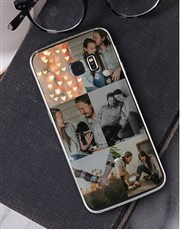 Personalised Six Photo Samsung Cover