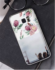 Personalised Protea Photo Samsung Cover