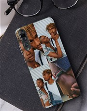 Personalised Four Photo Huawei Cover