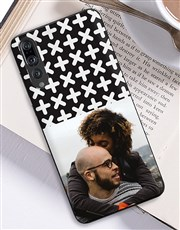Personalised Photo Crosses Huawei Cover