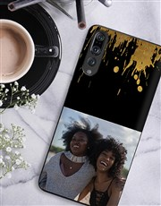 Personalised Splash Photo Huawei Cover