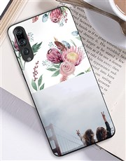 Personalised Protea Photo Huawei Cover