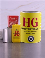 Personalised J and B Bro Bucket