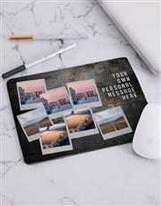 Personalised Photo Bomb Mousepad