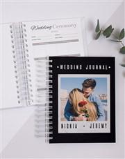 Personalised Photo Vintage Wedding Journal