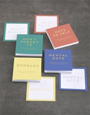 Personalised Doodle Note Gift Set
