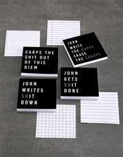 Personalised Gets It Done Note Gift Set
