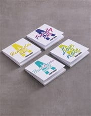 Personalised Colourful Note Gift Set