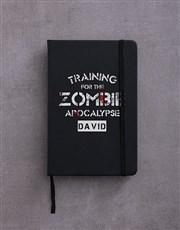 Personalised Zombie Apocalypse Go Stationery Set