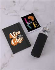 Personalised Love Africa Go Stationery Set
