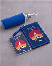 Personalised Predict The Future Go Stationery Set