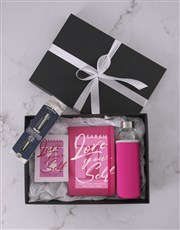 Personalised Love Yourself Go Stationery Set