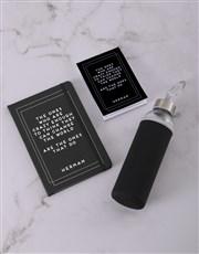 Personalised Change The World Go Stationery Set