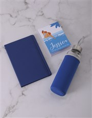 Personalised Hello Summer Go Stationery Set