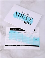 Personalised Adultish Desk Stationery Set