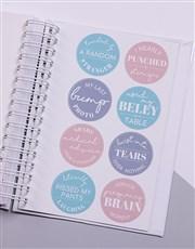 Personalised Bear Story Pregnancy Journal
