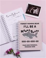 Personalised Mama Shark Pregnancy Journal