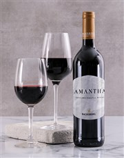Personalised Classic Backsberg Wine
