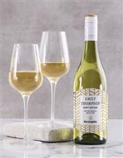 Personalised Golden Backsberg Wine