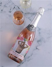 Personalised Botanic Photo Wine