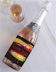 Personalised Fiery Love Wine